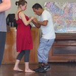 The workshop ends with the salsa