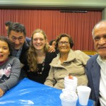 With Daniela, Juan, Grandma and Grandpa