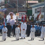 Procession on the main boulevard