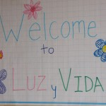 """Luz y Vida"" means Light and Life, the name chosen for this afterschool meal and learning program"