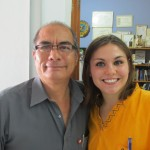 With Alejandro, a radiologist