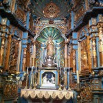 The stunning Our Lady of the Evangelization Chapel in the Cathedral of Lima. This chapel was created in 1654.