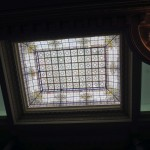 An impressive skylight in the Government Palace.