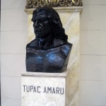 The Grand Hall features busts of Peru's greatest heroes, including Tupac Amaru, the leader of an indigenous uprising in 1780 against the Spanish in Peru.