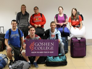 GC students have arrived in Lima