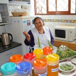 Alicia Taipe Tello provided a fascinating workshop on the uses of Andean herbs.