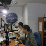 RPP's Oxigeno (oxygen) radio station plays classic rock.