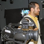 Rudy in an RPP television studio.