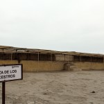 The Plaza of the Ancestors at Huaca Pucllana.