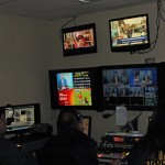 A control room in the RPP television facilities.
