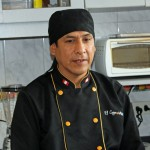 Nicolás Ferrer Quispe, a Lima chef, is an expert on Peruvian cuisine.