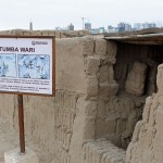 Another Wari tomb at Huaca Pucllana.