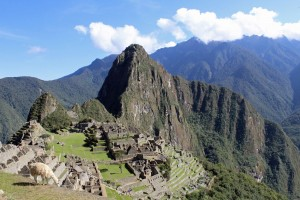 A timeless image: magnificent Machu Picchu.