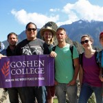 Rudy, Joshua, Jacob, Landon, Alan, Becca and Lauren at Machu Picchu.