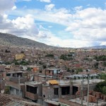The view of central Ayacucho from the roof of the home of Lauren's host mother.