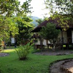 Another view of Gad Gha Kum Lodge, a beautiful hotel and camping complex just outside San Ramón.