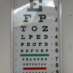 Alan and Becca have administered vision tests at Clinica Elera.