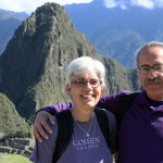 SST co-leaders Judy Weaver and Richard Aguirre at Machu Picchu.