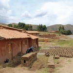 An adobe brick-making business