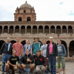 The Peru SST group: Rudy, Jacob and our service coordinator, Willy (first row); Richard, Alan, Becca, Landon, Josh, Judy, Lauren (standing)