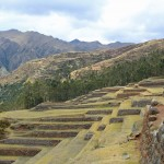 Perfect Incan terracing at Chinchero