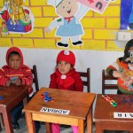 Children at Fe y Alegria.