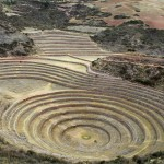 Moray features numerous circular concentric farming terraces.