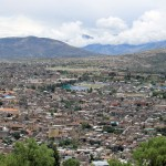 A scenic view of Ayacucho.