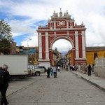 The Arch of Triumph of Ayacucho.