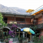 In the ancient city of Ollantaytambo, we stayed in the Las Portadas Inn.