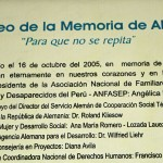 The Museo de la Memoria was opened in 2005 with the goal of ensuring such a tragedy will not happen again.
