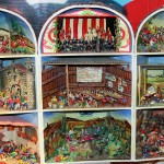 A retablo in the museum depicts the experiences of the victims and survivors of the Shining Path conflict.