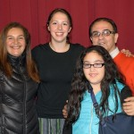 Becca and the Castellano Morales family