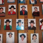 Photos of the men and women who lost family members during the Shining Path conflict. They established an association that created the Museo de la Memoria in hopes such a tragedy will never be repeated.
