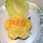 Alicia Taipe Tello's artistic touch to causa, a Peruvian treat.
