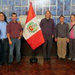 Students at the Presidential Palace – Alan, Jacob, Rudy, Landon, Joshua, Becca and Lauren.