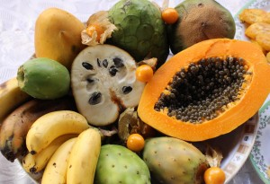 Some of the bounty available in Peru.