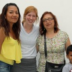 Natalie with host sister, Caludia, host mother, Marisel Avalos Mendocilla, and host nephew, Adriano.