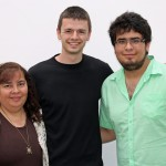 Neal with host mother, Blanca Ramirez Aguirre, and host brother, Nicolas.