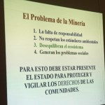A summary of the negative consequences of mining in Peru, according to Catalina Jimenez.
