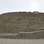 The main pyramid at Huaca Pucllana.