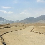Looking out toward Caral.