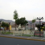 A small park in Chancay.