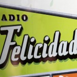 The logo for Radio Felicidad (Happiness)