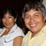 Peru SST Service Coordinator Willy Villavicncio and his fiancee, Candy.