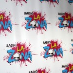The logo for La Zona, RPP's top-rated radio station.