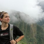 Gretchen at Machu Picchu.