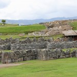 A view of the central plaza at Saqsayhuaman.