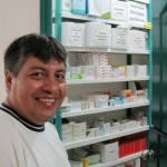 Willy, a pharmacist by training, was interested in the clinic's pharmacy.