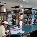 The municipal library of Chancay.